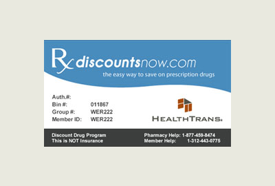 Print Your Discount Card